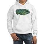 Hosta Clumps Hooded Sweatshirt