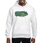 Hosta Clumps Hooded Sweatshirt