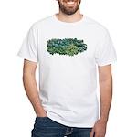 Hosta Clumps White T-Shirt