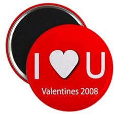"I Love You 2.25"" Magnet (10 pack)"