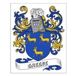 Greene Coat of Arms Small Poster