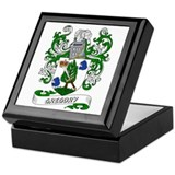 Gregory Coat of Arms Keepsake Box