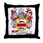 Griswold Coat of Arms Throw Pillow