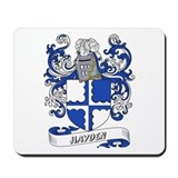 Hayden Coat of Arms Mousepad
