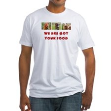 .Sweatshop-free T-shirt