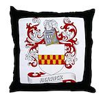 Herrick Coat of Arms Throw Pillow