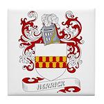 Herrick Coat of Arms Tile Coaster
