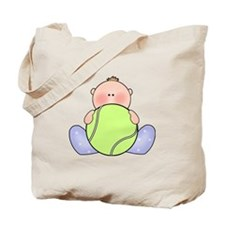 Lil Tennis Baby Boy Tote Bag