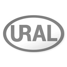 Oval Sticker - URAL