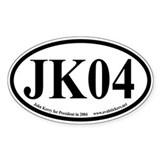 John Kerry for President Oval Decal
