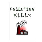 Pollution Kills Postcards (Package of 8)