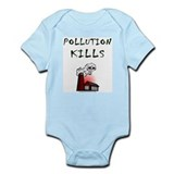 Pollution Kills Infant Creeper