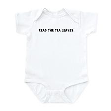 Read the tea leaves Infant Bodysuit