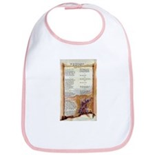 The Ten Commandments Bib