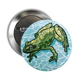 "FLOATING FROG 2.25"" Button (100 pack)"