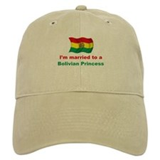 Married To Bolivian Princess Baseball Cap
