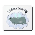 Flying Hippo Mousepad