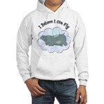 Flying Hippo Hooded Sweatshirt