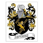 Jeffries Coat of Arms Small Poster