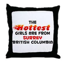Hot Girls: Surrey, BC Throw Pillow