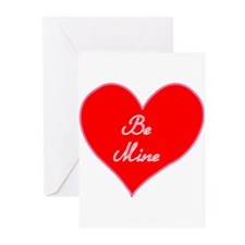Be Mine Heart Greeting Cards (Pk of 10)