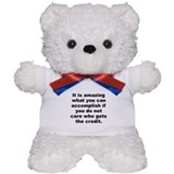 Harry s truman quote Teddy Bear