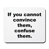 Funny Harry s truman quote Mousepad