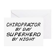 Chiropractor Superhero Greeting Cards (Pk of 10)