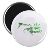 "Pass The Bong 2.25"" Magnet (10 pack)"