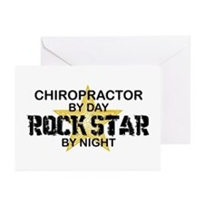 Chiropractor Rock Star Greeting Cards (Pk of 10)