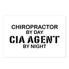 Chiropractor CIA Agent Postcards (Package of 8)