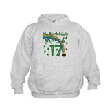 St. Patrick's Day March 17th Birthday Hoodie