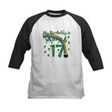St. Patrick's Day March 17th Birthday Tee