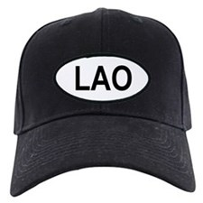 Laos Oval Baseball Hat