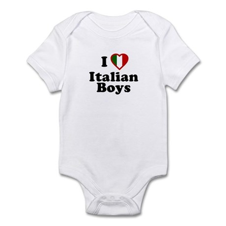 I Love Italian Boys Infant Creeper