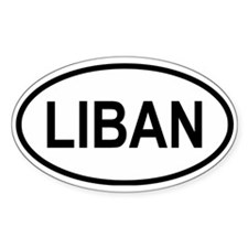 Liban Oval Decal