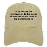 Henry allen quotation Baseball Cap