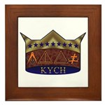 Masonic K.Y.C.H. Framed Tile