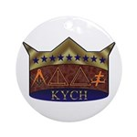 Masonic K.Y.C.H. Ornament (Round)