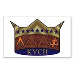 Masonic K.Y.C.H. Rectangle Sticker