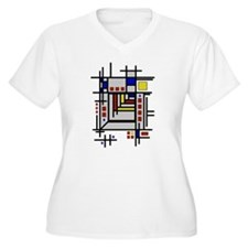 Cute Abstract art T-Shirt