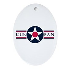Kunsan Air Base Oval Ornament