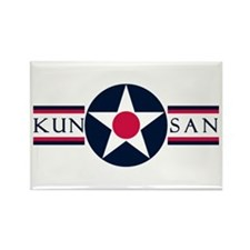 Kunsan Air Base Rectangle Magnet