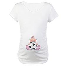 Lil Soccer Baby Girl Shirt