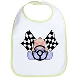 Lil Race Winner Baby Boy Bib