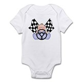 Lil Race Winner Baby Boy Onesie