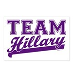Team Hillary Purple Postcards (Package of 8)