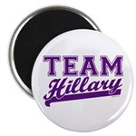 Team Hillary Purple Magnet