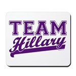 Team Hillary Purple Mousepad