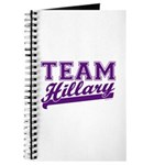 Team Hillary Purple Journal